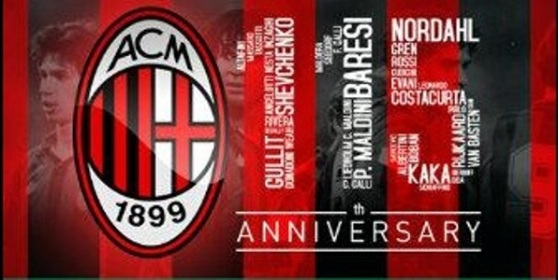Happy Anniversari 115 Milan