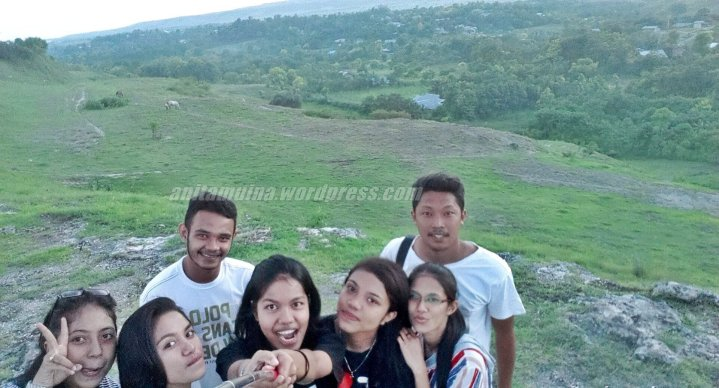 Our groufie in Love Hill