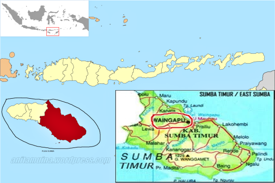 Peta Pulau Sumba