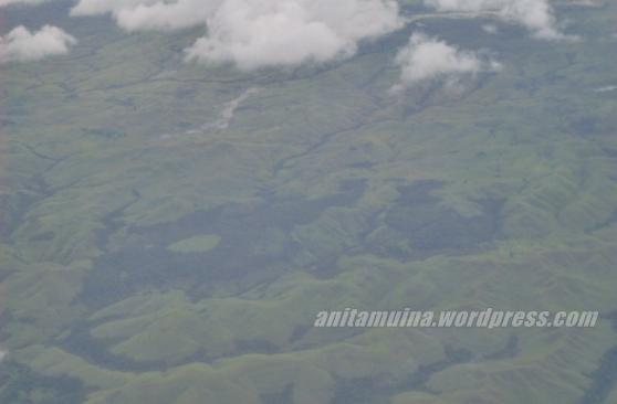 Pulau Sumba tampak dari atas pesawat #takenbypanasonic