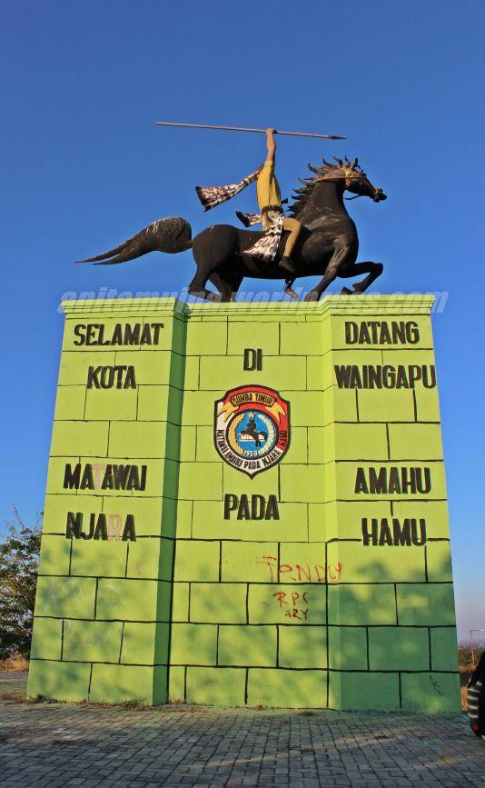 Patung Kuda Matawai Amahu Pada Njara Hamu #takenbyERA
